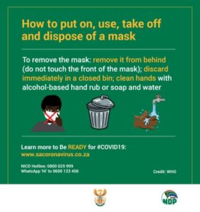 COVID-19 - How to Put on Mask