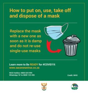 COVID-19 - How to dispose mask