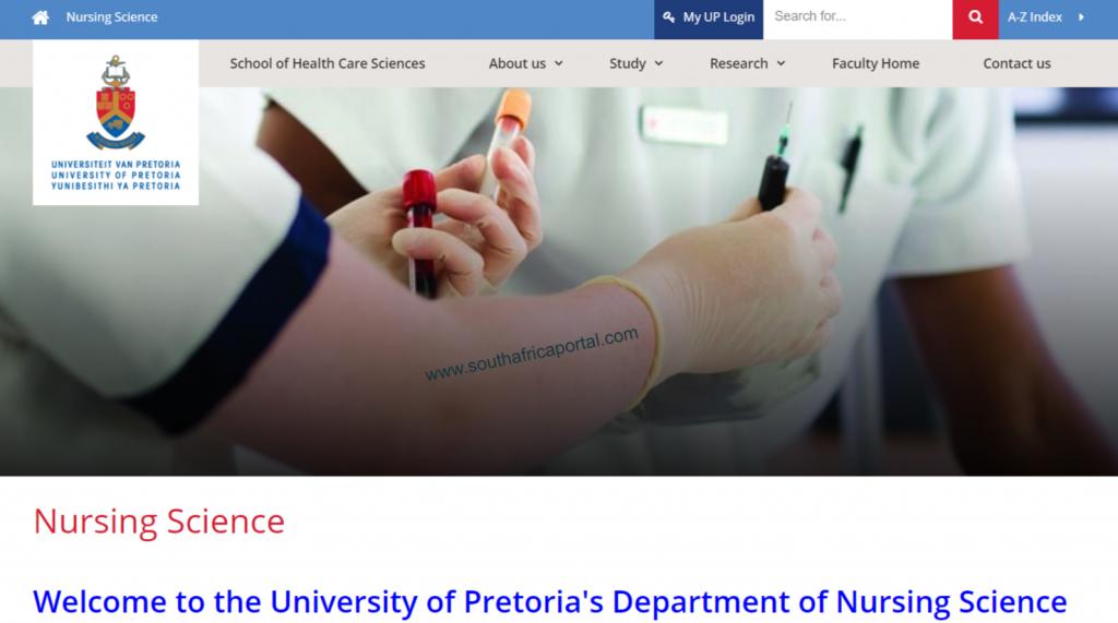 University of Pretoria (UP) Nursing School Application Status