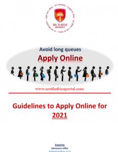 Sol Plaatje University Online Application Steps