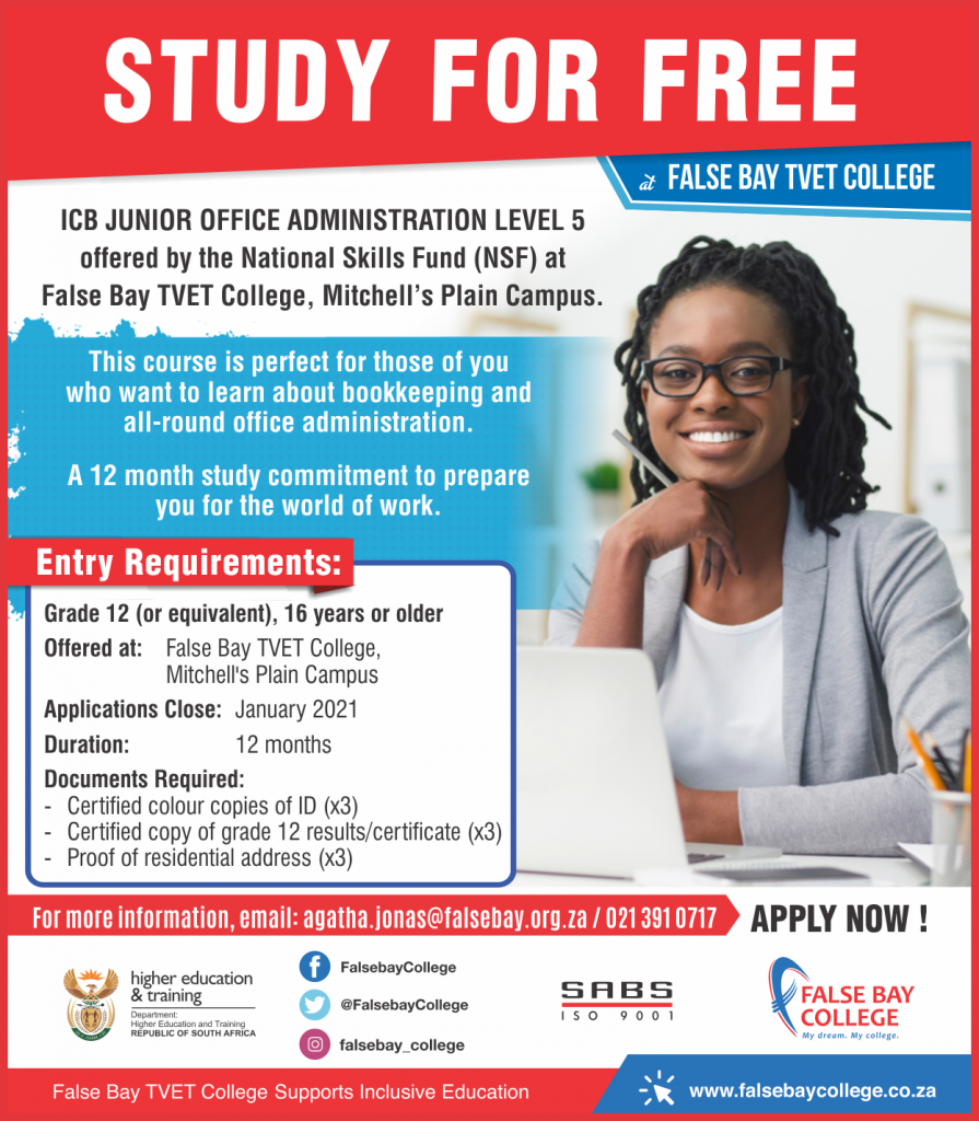 False Bay TVET College Funded Programmes and Learnerships