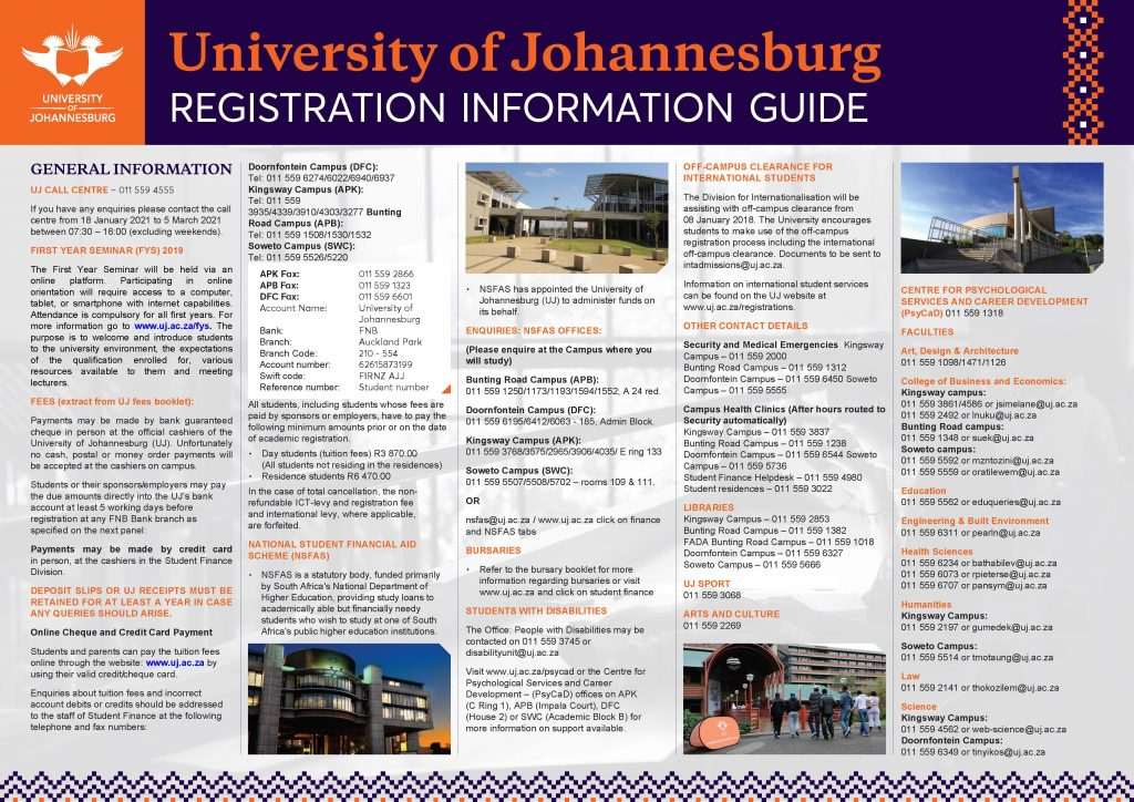 Registration information Guide