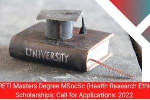 SARETI Masters Degree Scholarships   How To Apply